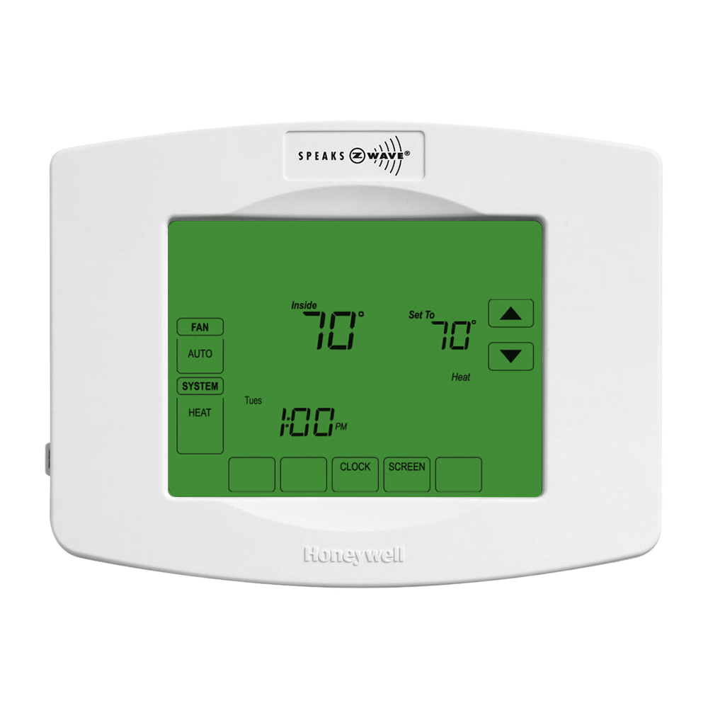 Honeywell Z Wave Thermostat Manual Simple Instruction Guide Books Line Voltage Find The Best Volt For Your Wink Yth8320zw Rh Com Digital Troubleshooting