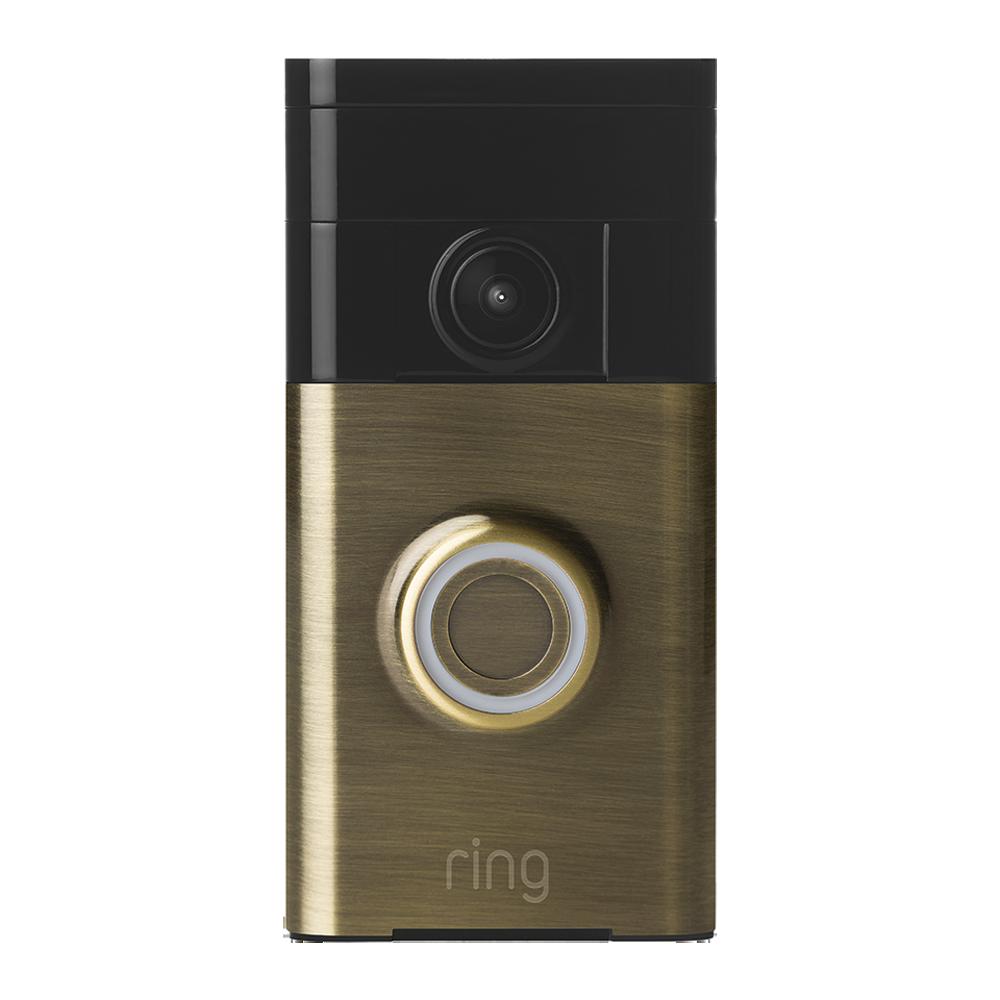 Ring doorbell log in internal shower mixer